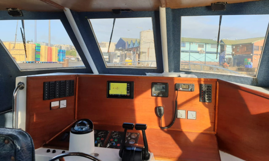 second hand, boat, for sale, 50 foot, lee cat, SAMSA, surveyed, open sea, operations, OPL, offshore, services, cummins, propulsion, 12 crew, seats