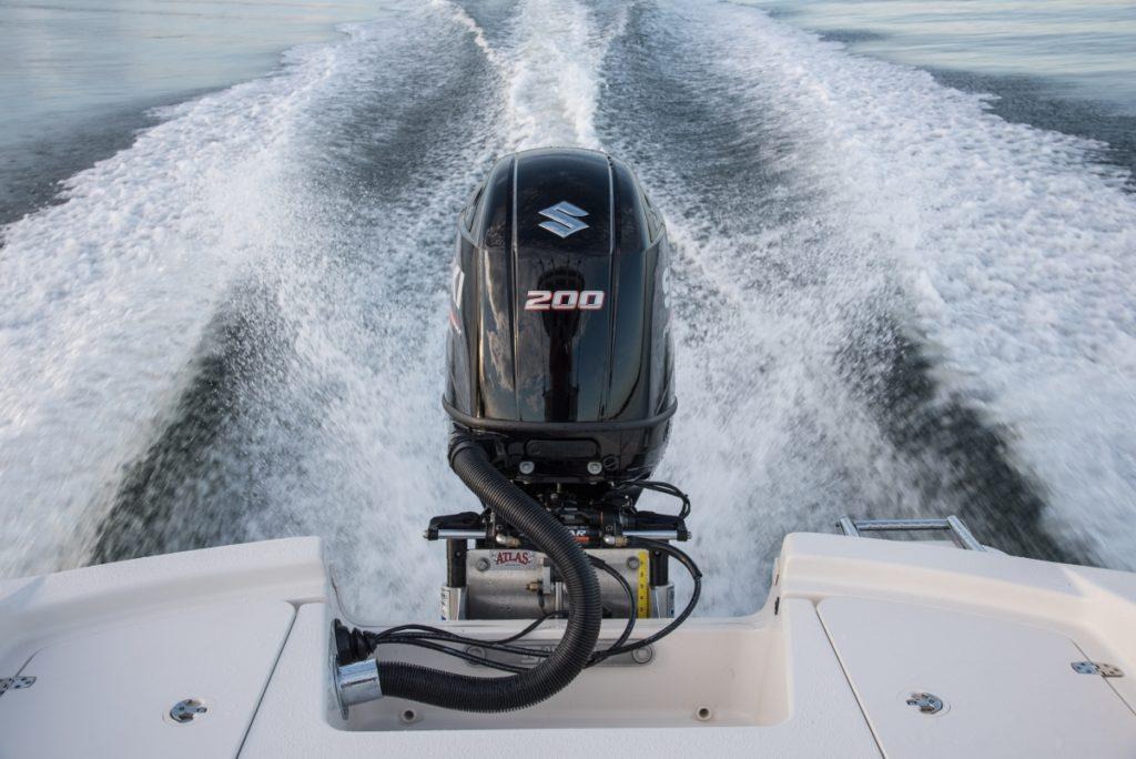 Suzuki DF200 outboard by Nauti-Tech Suzuki