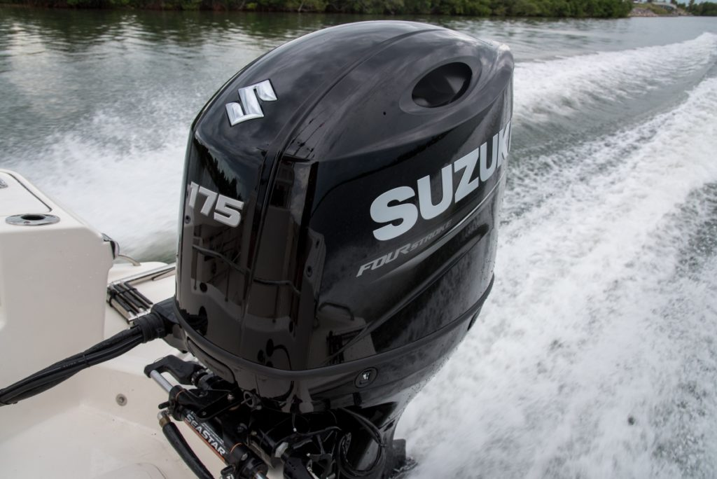 Suzuki DF175 outboard 175hp boat engine by Nauti-Tech Suzuki