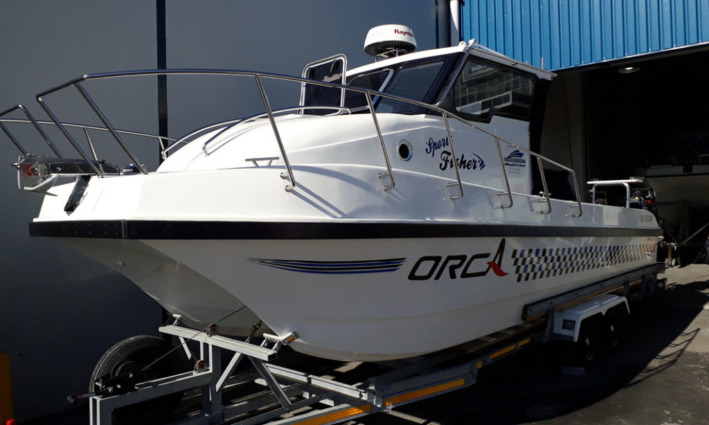 carry, cat, carrycat, 830, boat, new, sport, fisher, for sale