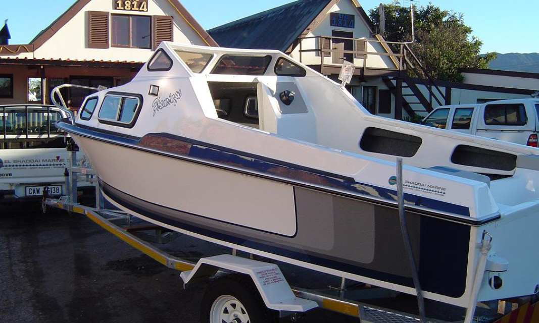 New Exclusive El Shaddai Flamingo 170 Cabin Cruiser