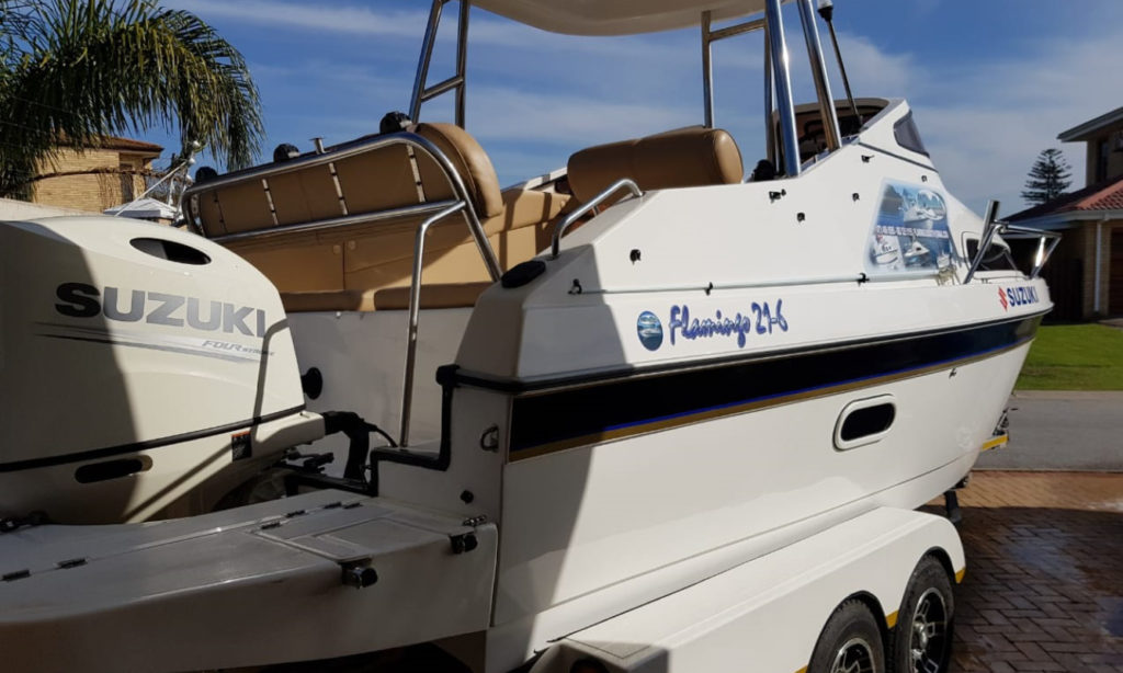 flamingo, 216, 21-6, cabin, boat, for sale, cruiser, 21 foot, cabin cruiser, el shaddai, gauteng, knysna, south africa, port elizabeth, kzn, weight, specs, price, small, leisure, boating