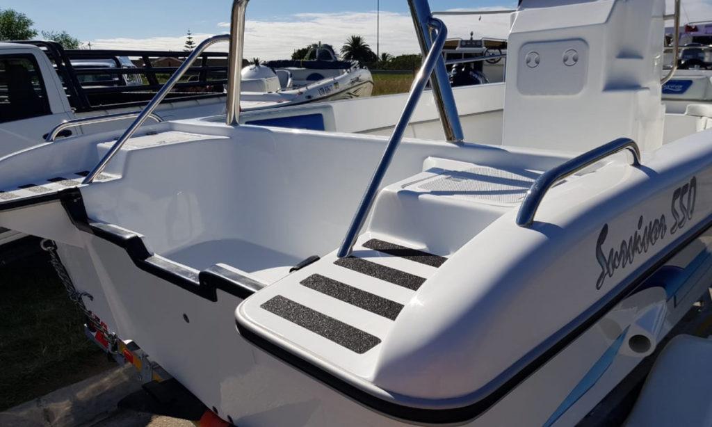 survivor, 550, boat, small, for sale, mono hull, centre console, fishing, ski, el shaddai