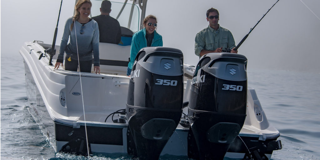 Best Outboard Motors in the World: NMMA Award Winning Suzuki DF350 Outboard Motors by Nauti-Tech Suzuki