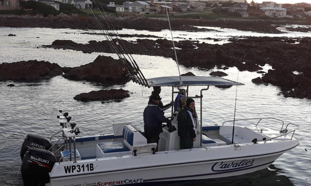 Overberg Boat Club Kleinbaai fishing Gansbaai Nauti-Tech Suzuki, Butt Cat