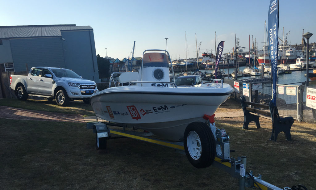New Boat with Suzuki Motor, Grand Prize in the ECM FOrd Species challenge at PEDSAC by Nauti-Tech Suzuki