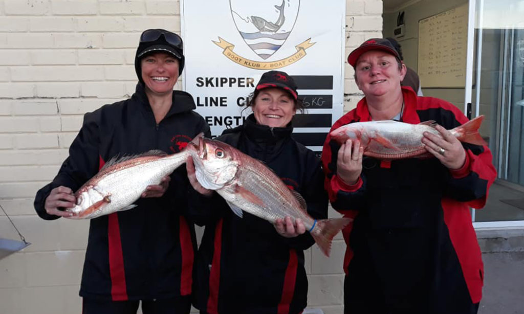 Eastern Province Ladies Fishing Competitions team, Nauti-tech Suzuki and Butt Cat