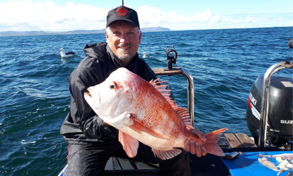 5.66kg Red Stump at Kleinbaai BottomFish Interprovincial Fishing Competition South Africa