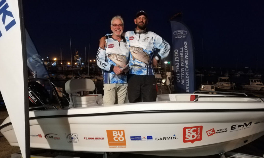 ECM Ford Species Challenge 2018 New Boat Grand Prize Winner Ben de Bruyn by Nauti-Tech Suzuki