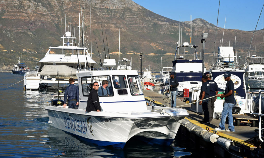 Hout Bay Tuna Derby Tuna Boat Fishing Competitions Cape Town by Nauti-Tech Suzuki