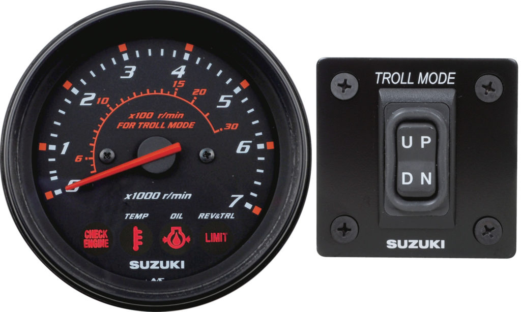 Suzuki Outboards Troll Mode controls for trolling without a trolling motor by Nauti-Tech Suzuki
