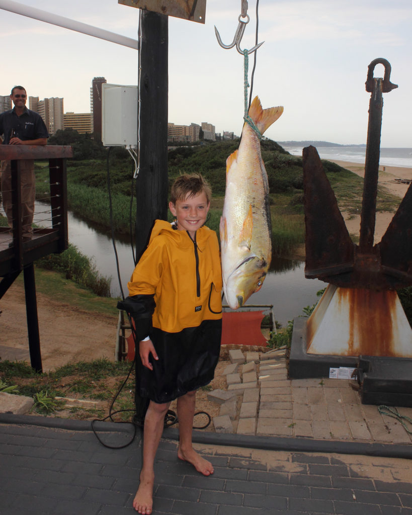 Kieran McKay NDSAA Natal Interzonals Bottom Fishing Competition Warnadoone Warner Beach Amanzimtoti KZN by Nauti-Tech Suzuki
