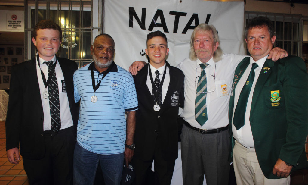 Winning Team: Southern Natal NDSAA Natal Interzonals Bottom Fishing Competition Warnadoone Warner Beach Amanzimtoti KZN by Nauti-Tech Suzuki