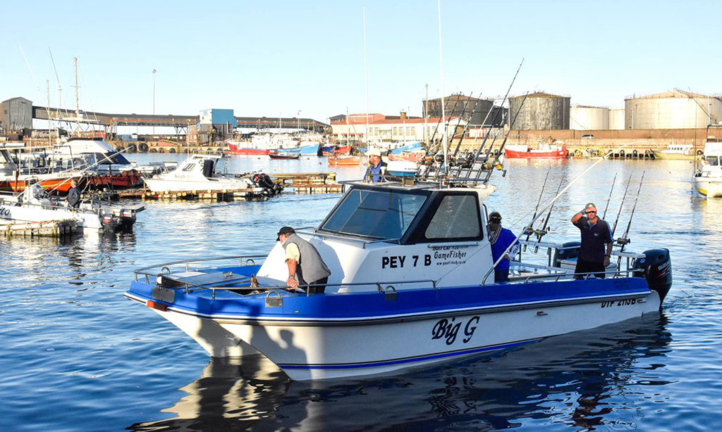 Boats that practice Bottom Fish Conservation at ECM Ford Species Challenge Fishing Competition in Port Elizabeth by Nauti-Tech Suzuki