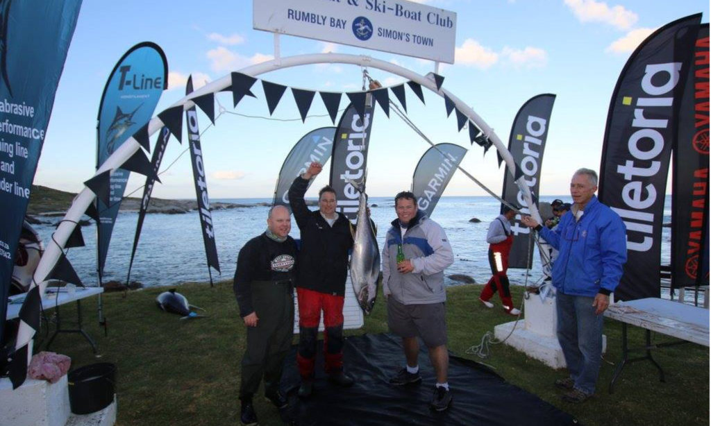 50th Annual Rumbly Bay Tuna Invitational Big Game Fishing Competition Cape Town, Simon's Town Miller's Point by Nauti-Tech Suzuki