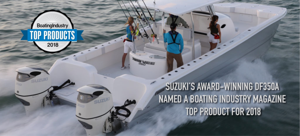 Best Outboard Motors in the World: NMMA Award Winning Outboard Motors by Nauti-Tech Suzuki