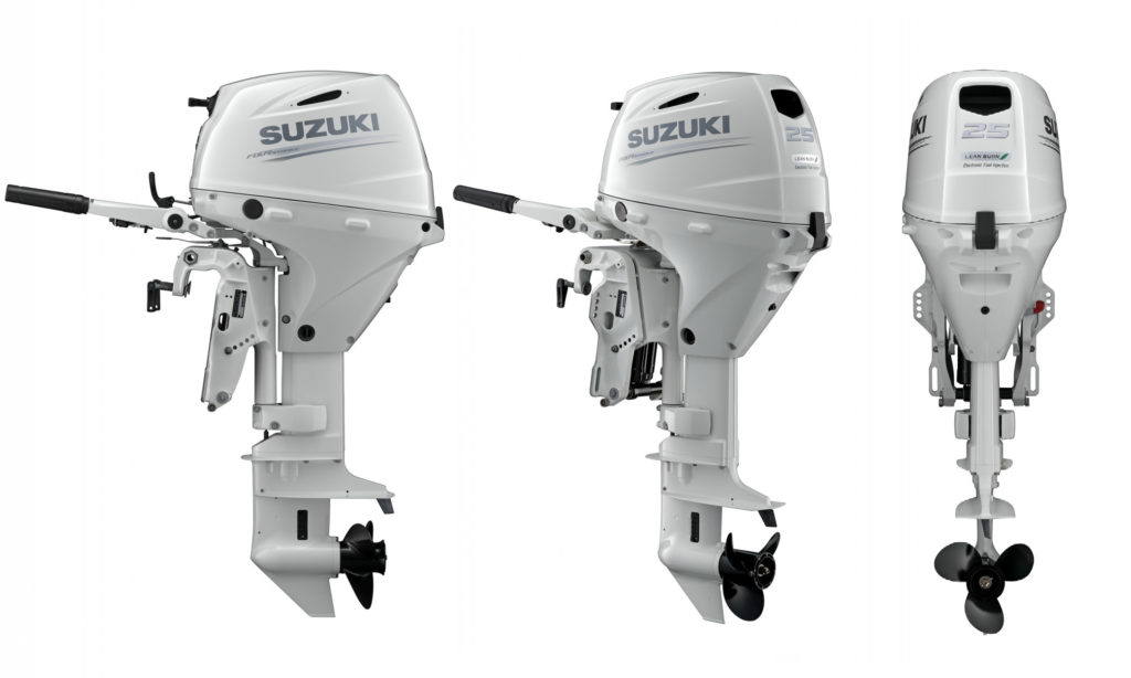 Best Outboard Motors in the World: NMMA Award Winning Suzuki DF25 Outboard Motors by Nauti-Tech Suzuki