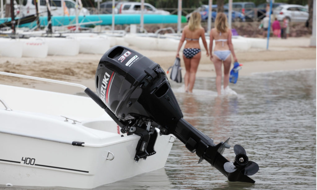 Best Outboard Motors in the World: NMMA Award Winning Suzuki DF30 Outboard Motors by Nauti-Tech Suzuki