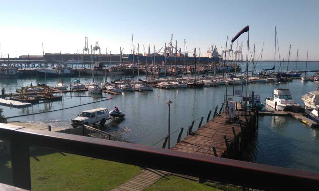 PE Harbour from Port Elizabeth Deep Sea Angling Club PEDSAC by Nauti-Tech Suzuki