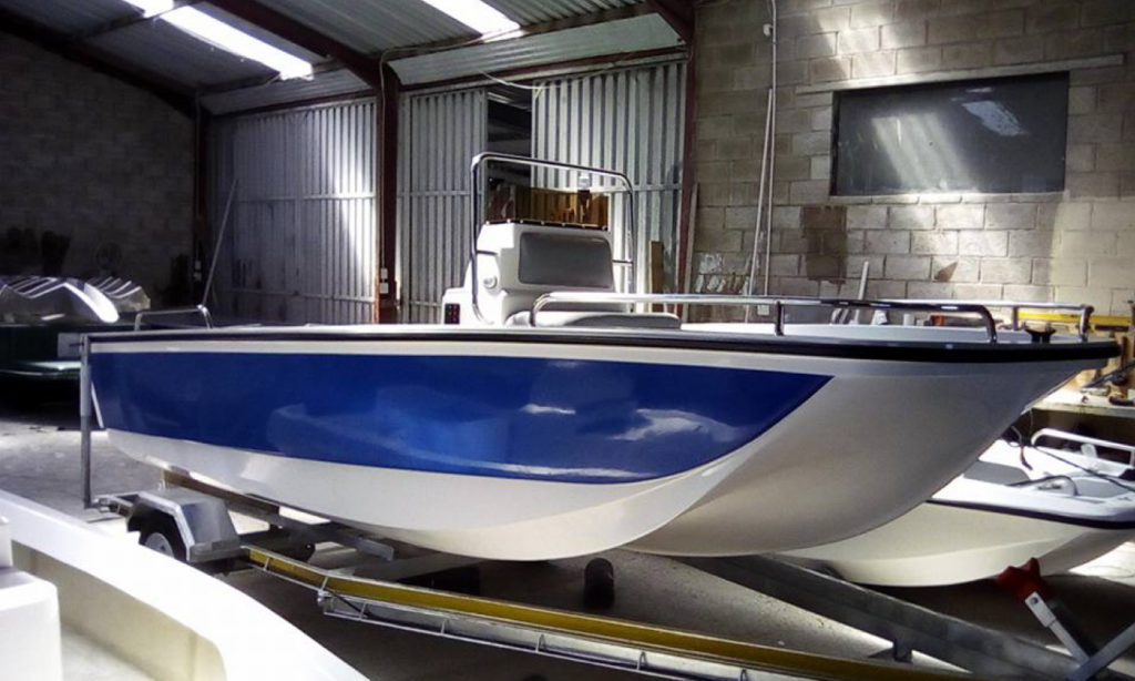 Bandit 490 Cathedral Hull Midrange Freshwater and Offshore Ocean Boat by Jamieson Boats by Nauti-Teck Suzuki