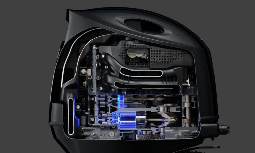 Suzuki Outboard Motor Cutaway by Nauti-tech Suzuki