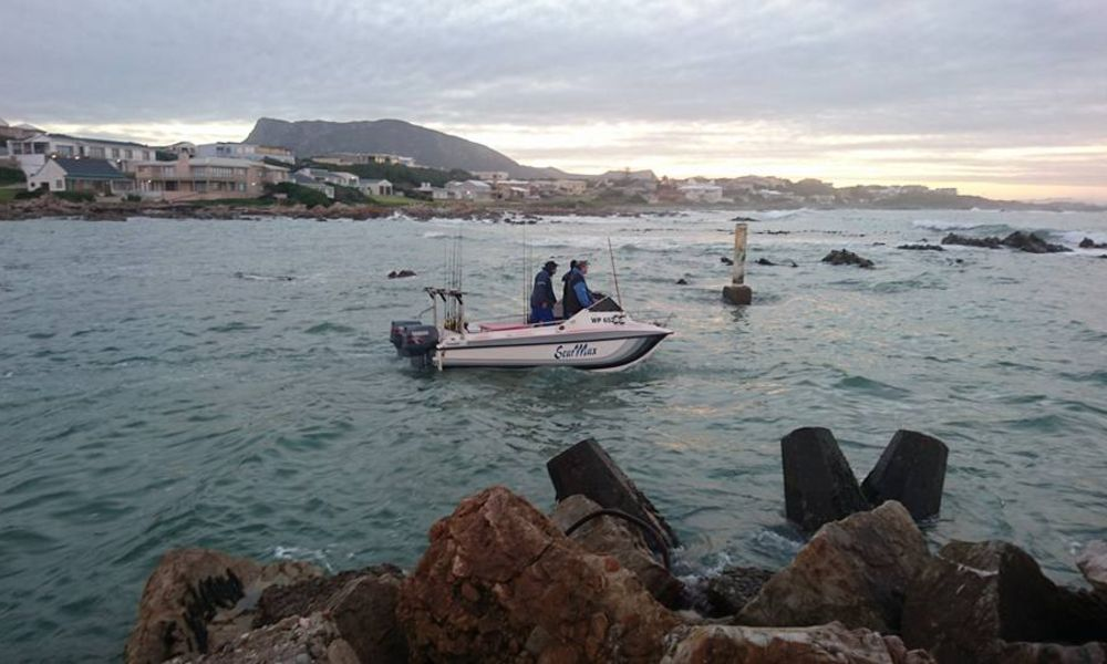Boat Fishing at Overberg Boat Club in Gansbaai by Nauti-Tech Suzuki