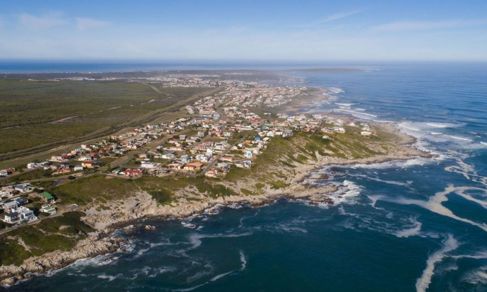 Gansbaai Where Overberg Boat Club is situated, by Nauti-tech Suzuki