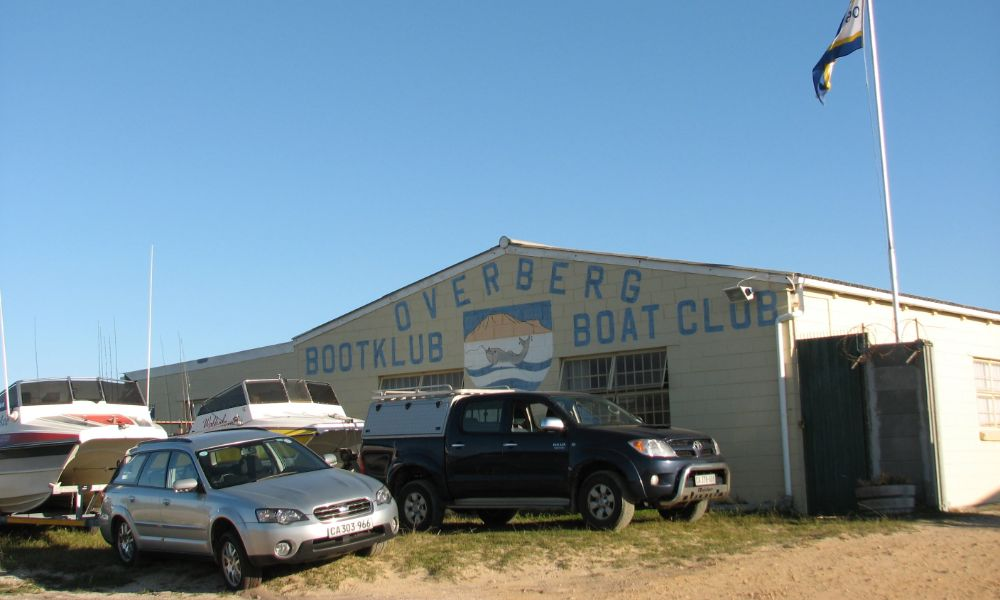 Overberg Boat Club clubhouse and facilities in Gansbaai by Nauti-Tech Suzuki
