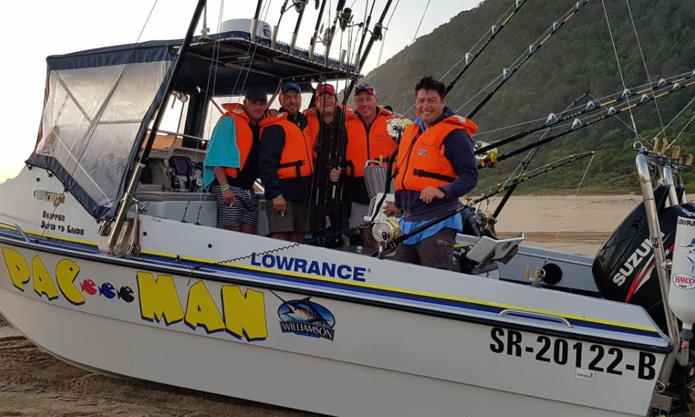 Fishing at St Lucia Ski Boat Club by Nauti-Tech Suzuki