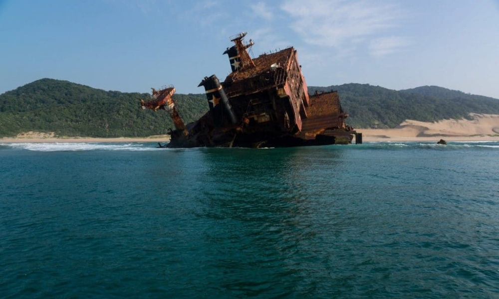 Jolly Rubino Wreck Near St Lucia Fishing Spot by Nauti-Tech Suzuki