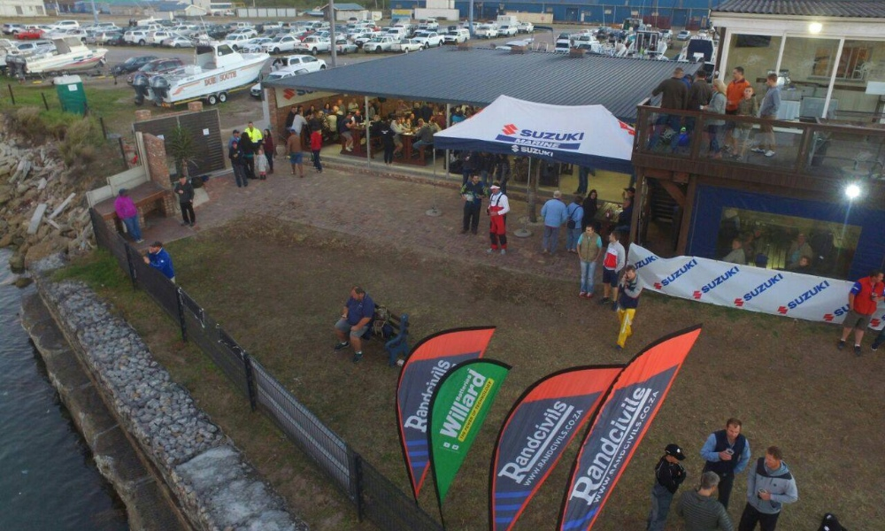 PEDSAC Ski Boat Club in PE for the Tuna Classic Fishing Competition in May by Nauti-Tech Suzuki