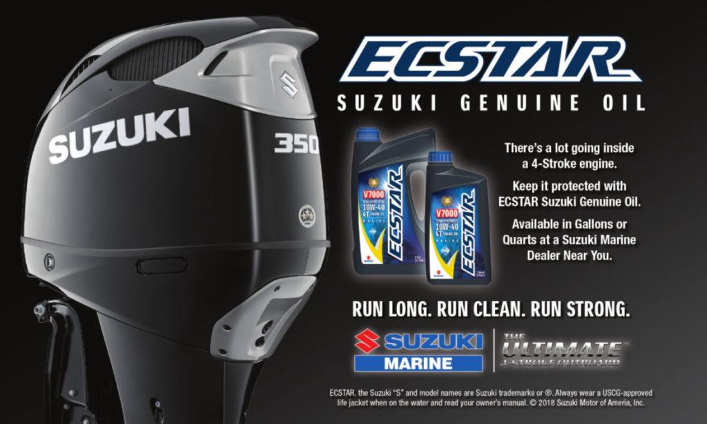 Ecstar Suzuki Outboard Motor Oil by Nauti-Tech Suzuki