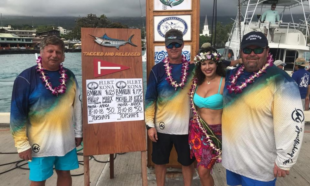 sadsaa, team, hawaiian, international, billfish, july, august, fishing, competitions