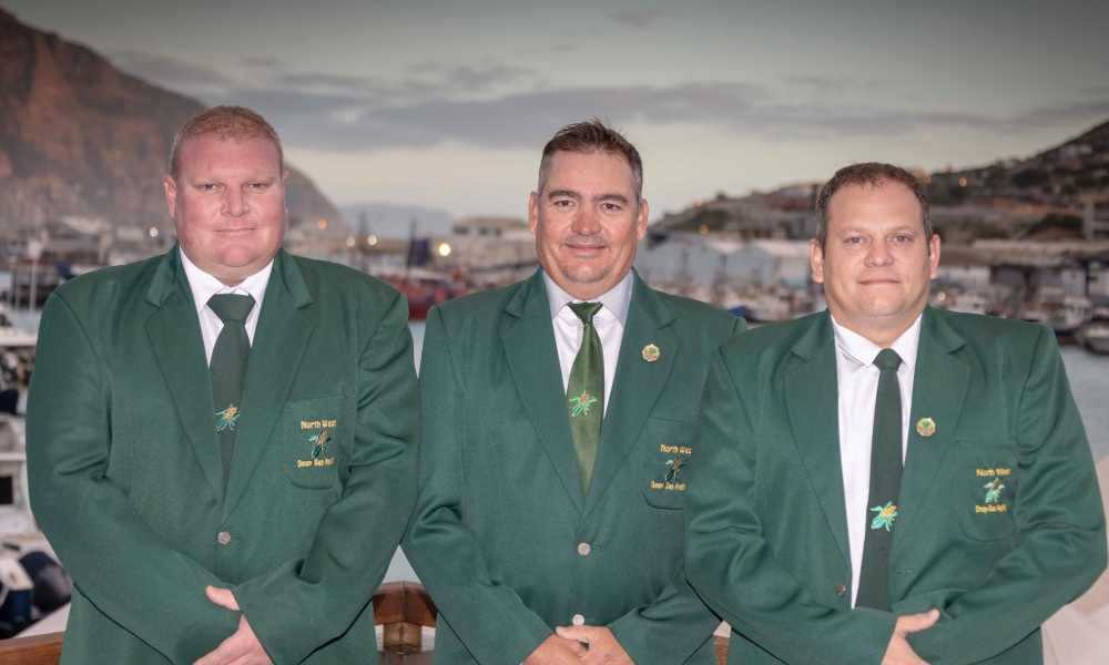 Team North Western Province at 2019 SADSAA Tuna Nationals at Atlantic Boat Club in Hout Bay by nauti-tech Suzuki