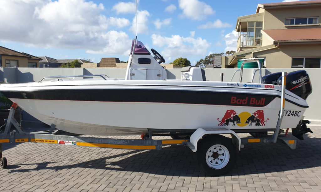 second, hand, boat, used, gamefish, 170, for sale
