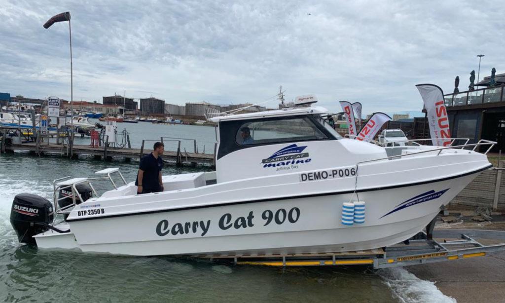 carry, cat, carrycat, 900, carry on, new, boat, 900, jan, hendrik, hattingh, kalahari, 9 metre, fishing, tuna, custom, built, suzuki, df250